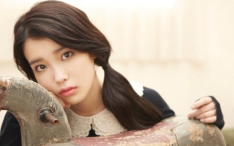 IU wallpaper with a triceratops titled Last Fantasy