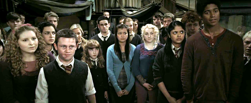 Lavender Brown and Dumbledore's Army