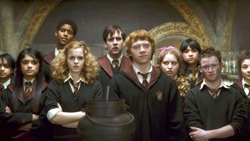 Lavender Brown and Gryffindors