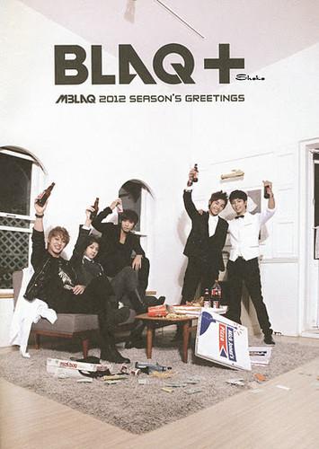MBLAQ fondo de pantalla with a sign called MBLAQ 2012 Season Greeting