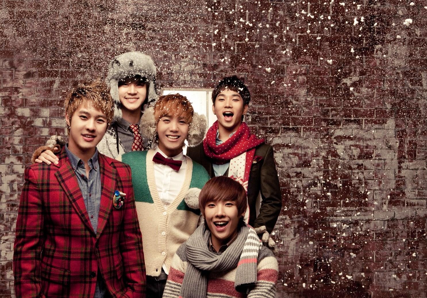 """MBLAQ """"White Forever"""" promotional pics"""