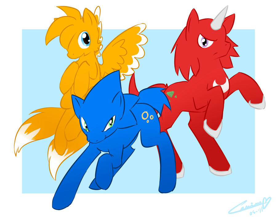 Kai of the royal guard MLP-FIM-Speed-is-magic-knuckles-the-echidna-27906066-900-714