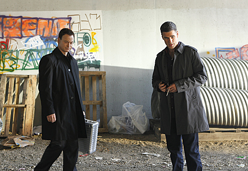Mac & Flack - csi-ny Photo