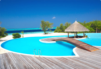 Maldives वॉलपेपर containing a resort titled Maldives