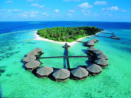 Maldives achtergrond probably containing an oceaan,