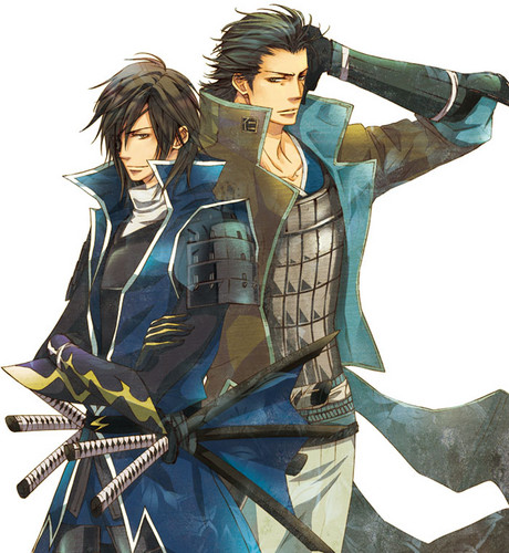 Masamune and Kojuuro