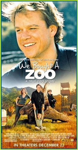 Matt Damon: New 'We Bought A Zoo' Posters!