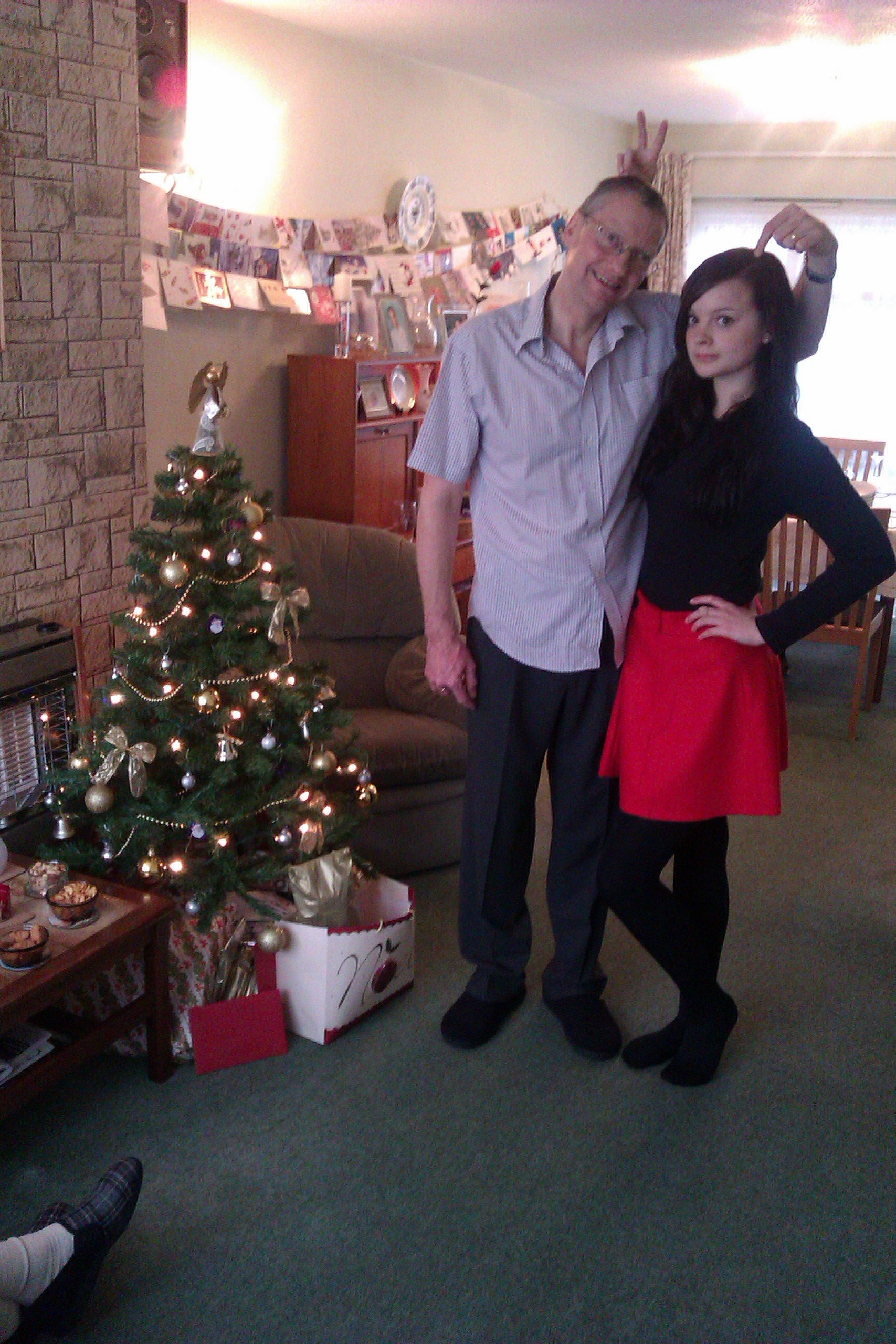 Me and My Dad - Christmas jour 2011!