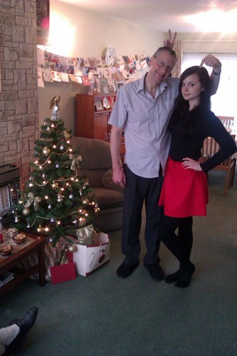 Me and My Dad - natal dia 2011!
