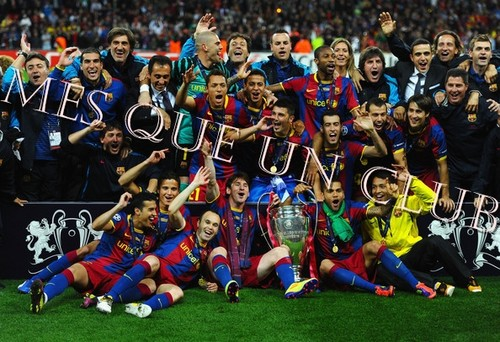 FC Barcelona wallpaper possibly with a bandsman and an euphonium entitled Mes que un club