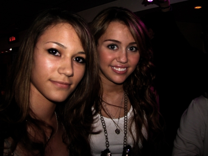 Miley ~ With Fans/Friends