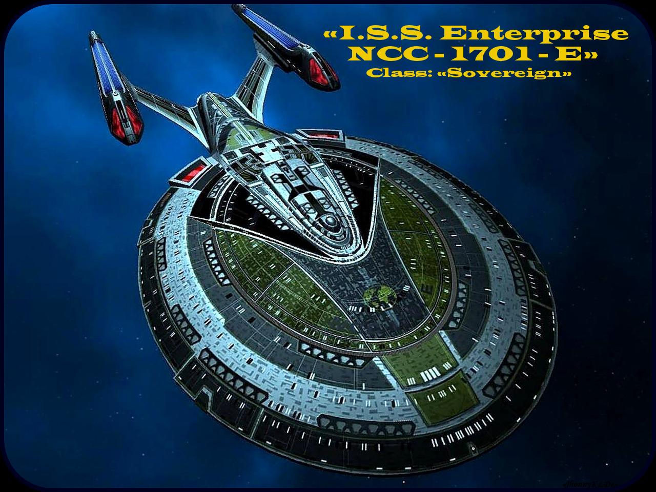 Mirror Universe «I.S.S. Enterprise NCC - 1701- E» [ «Das Imperium der Erde TERRA» ]