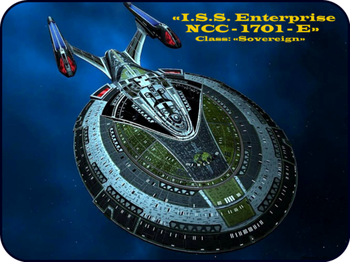 Mirror Universe «I.S.S. Enterprise NCC - 1701- E»  [ «Das Imperium der Erde TERRA» ] - star-trek Wallpaper