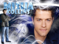 Misha Collins - anjs-angels wallpaper