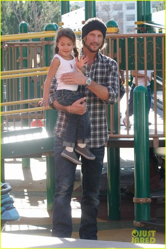 Nahla Aubry: Coldwater Park with Dad Gabriel!