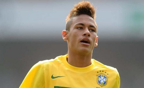 Neymar wallpaper probably containing a jersey and a portrait entitled Neymar Brazil