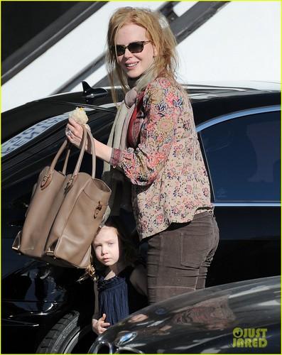 Nicole Kidman: New Year's Eve with Sunday Rose!