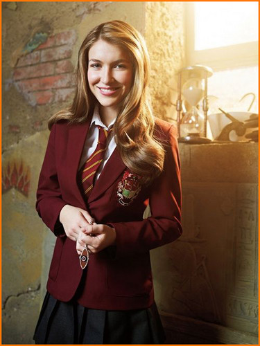 The House of Anubis wallpaper with a business suit titled Nina