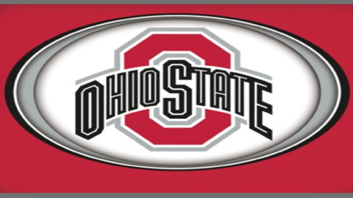 OVAL OHIO STATE RED BLOCK O