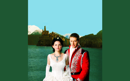 Prince Charming & Snow White - once-upon-a-time Wallpaper