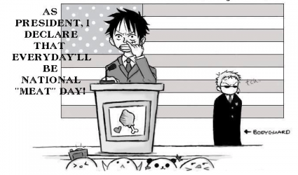 Monkey D. Luffy for President