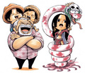 Chibi One Piece - one-piece fan art