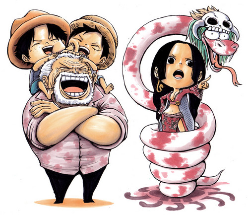 One Piece achtergrond possibly containing anime called Chibi One Piece