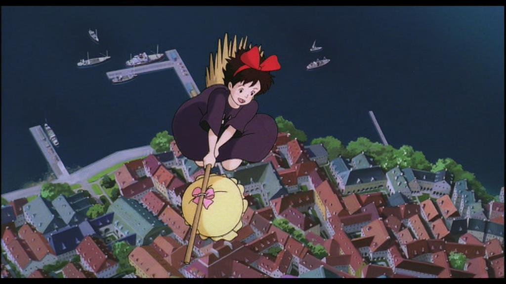 Kiki Kikis Delivery Service Images Over The Harbor HD Wallpaper And Background Photos