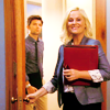Parks and Recreation photo probably containing a well dressed person and a portrait called P&R