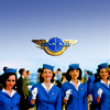 Pan Am photo with a green beret titled Pan Am