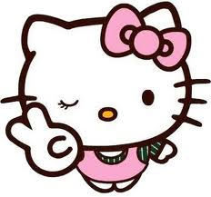 Peace Sign Hello Kitty