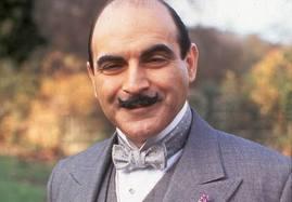 Poirot Smiling