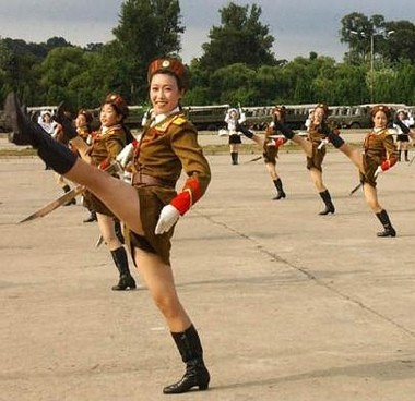 Popularity of North Korea