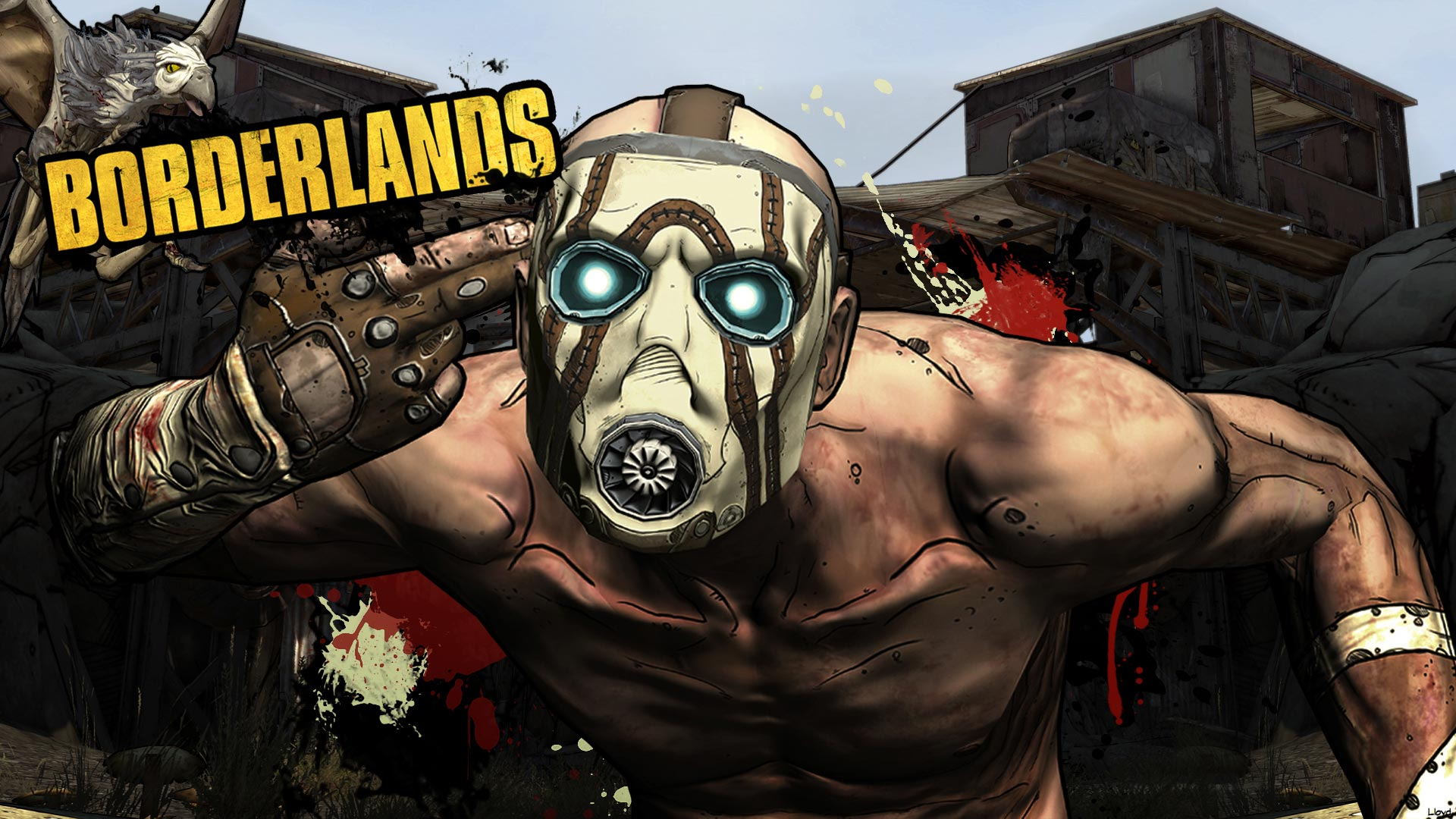 borderlands images psycho :p hd wallpaper and background photos
