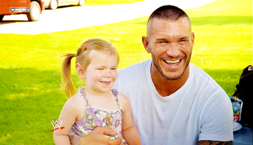 WWE Randy Orton Family Photos Wife Daughter Height Weight