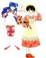 Ranma 1 2 _ Akane & Shampoo ( manga)