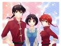 Ranma 1 2 _ Ranmas & Akane