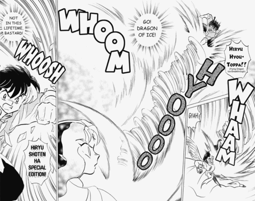 Ranma 1 2 manga ( pieces of volume 38 _ Final)