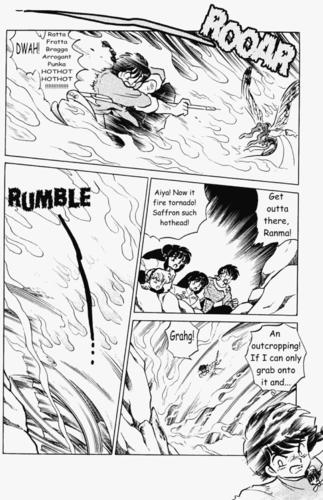Ranma 1 2 mangá (pieces of volume 38)
