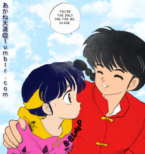Ranma & Akane _ 망가 ( only one for me)