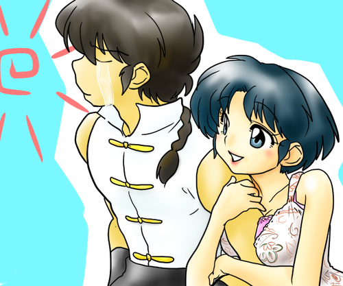 Ranma and Akane ( true bliss)