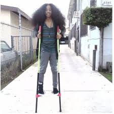 Ray Ray no BRAIDS & acting silly