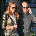 Rosie Huntington-Whiteley & Jason Statham: In-N-Out Snack Time! - jason-statham photo