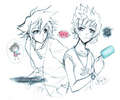 Roxas and Sora<3