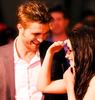 Robert Pattinson & Kristen Stewart photo containing a portrait titled Rpattz and Kstew :)