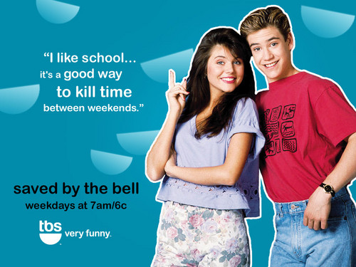 Saved by the Bell wallpaper probably with a leisure wear and a portrait called SBTB tiffany zach