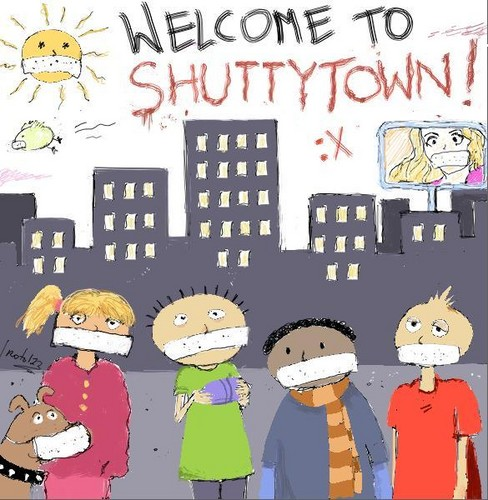 SHUTTY TOWN