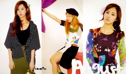 SNSD Seohyun 2012 Calendar wallpaper and Picture
