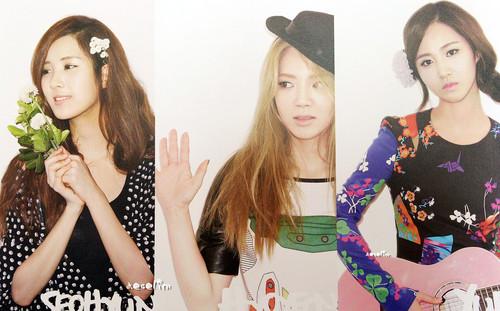 SNSD Seohyun Hyoyeon Yuri - 2012 Calendar