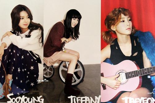 SNSD Sooyoung Tiffany Taeyeon - 2012 Calendar